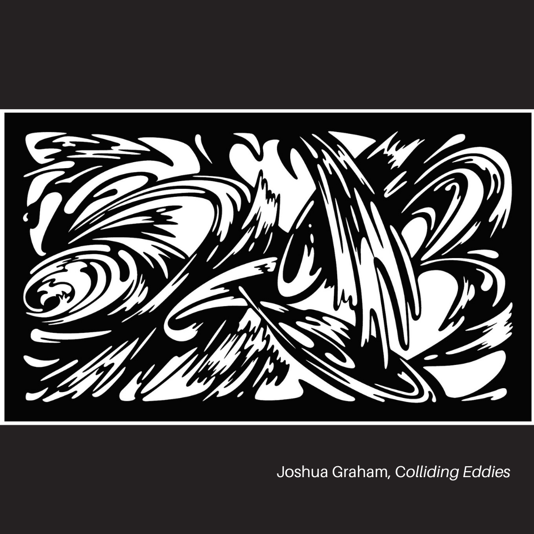 Colliding Eddies by Joshua Graham